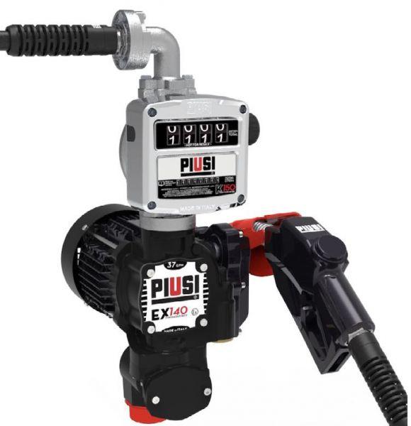 Piusi EX140 Drum, Vane Pump & Meter Drum Kit, ATEX Approved