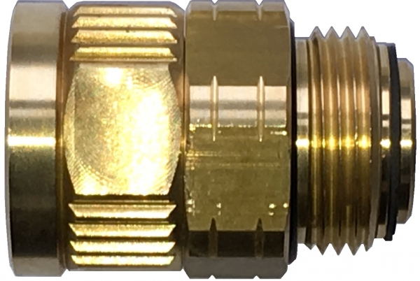 Piusi Swivel Joint / Rotating Connector, BSP