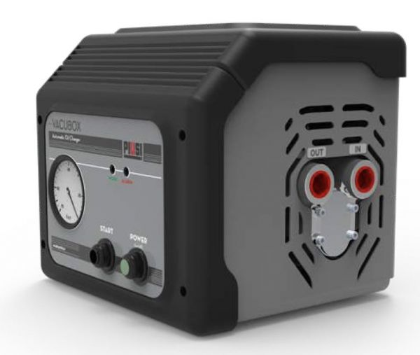 Piusi Vacubox, Electric Motor Oil Drainer