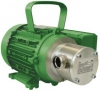 Zuwa Zumpe, Flexible Impeller Pumps, Motor Driven (Aluminium & Stainless Steel)