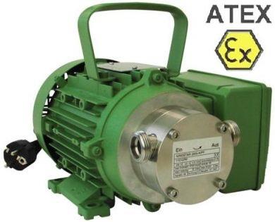 Zuwa Zumpe, Flexible Impeller Pumps, Motor Driven (Stainless Steel), ATEX Approved
