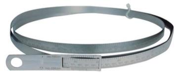 Richter Circumference & Diameter Measuring Tapes