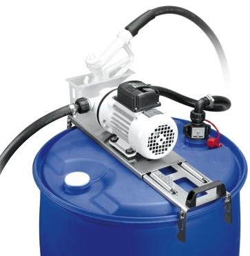Piusi Suzzarablue Drum, AC Diaphragm Pump, for Adblue / Urea