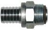 Aluminium Swivel Hose Tail, BSP