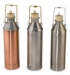 Single-Wall Fuel Sampler / Sampling Cans / Sample Thief with Cork Stopper, Copper, Tin, or Stainless Steel