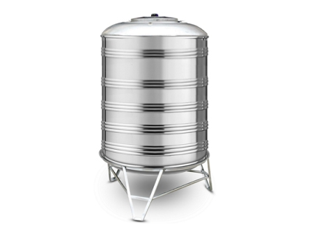 Vertical 304 Stainless Steel Tank, Dished / Cone / Conical Bottom, 310 to 6000 Litres