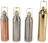 Stanhope-Seta Single-Wall Fuel Sampler / Sampling Cans / Sample Thief with Cork Stopper, Copper, Tin, or Stainless Steel