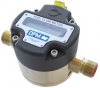 Technoton DFM Digital LCD Fuel Meter, for Marine Engine Fuel Consumption, Brass, Threaded