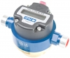 Technoton DFM Digital LCD Fuel Meter, for Marine Engine Fuel Consumption, Painted Aluminium, Threaded