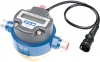 Technoton DFM Digital LCD Fuel Meter, With Pulse-Out for Marine Engine Fuel Consumption, Painted Aluminium, Threaded