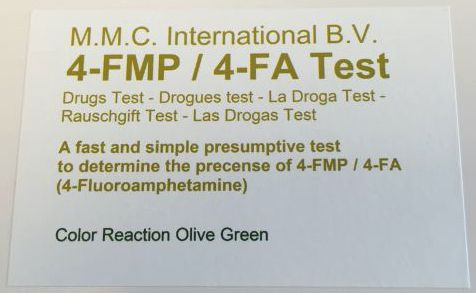 MMC Test Kits (Pack of 10) 4-Fluoroamphetamine (4-FMP / 4-FA)