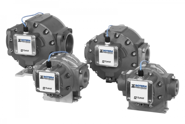 Tuthill / Fill Rite Electronic TS EDM, Oval Gear Pulse Flow Meters for Dispensers, ATEX Approved
