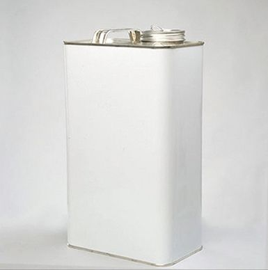 UN Approved, Rectangular Tinplate Drum, Lacquer Lined, 5L, with Security Seal Eyelet