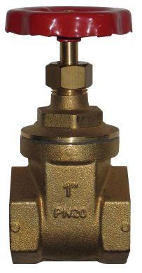 Itap Gate Valves, Brass, PN20, BSP