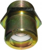 BZP Steel Check Valve, Parallel Male BSP