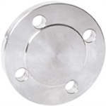 316 Stainless Steel, Raised Face, Blind Flange, BS EN 1092-1 PN16/8 Type 05B