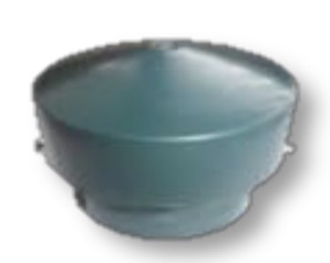 Vent Cap, Green Polypropylene