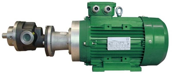 Zuwa Zumpe Gear Pumps, Motor Driven (Cast Iron) 2.3-70.0 LPM