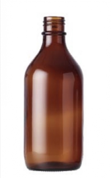 Winchester Amber (Brown) Glass Bottles, 10ml to 2500ml