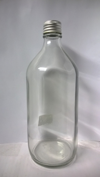 Winchester Clear Glass Bottles, 1 Litre