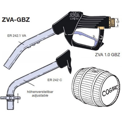 ZVA Slimline GBZ, ATEX Approved Automatic Chemical Nozzle (60 lpm)