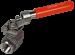 ZIPSON Ball Valve, Dead Man Spring Return Handle, 316 Stainless Steel, 2-Pc FF, BSP