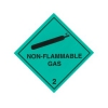 CLASS 2.2 (NON-FLAMMABLE & NON-TOXIC GASES) HAZARD LABELS (100MM X 100MM), Roll of 250