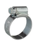 JCS Hi-Grip Worm-Drive Hose Clips, Zinc-Plated Steel