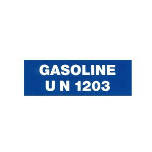PRODUCT LABEL UN 1203 (GASOLINE), Roll of 20