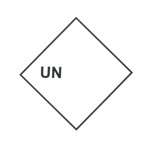 PRODUCT LABEL UN (BLANK), Roll of 250