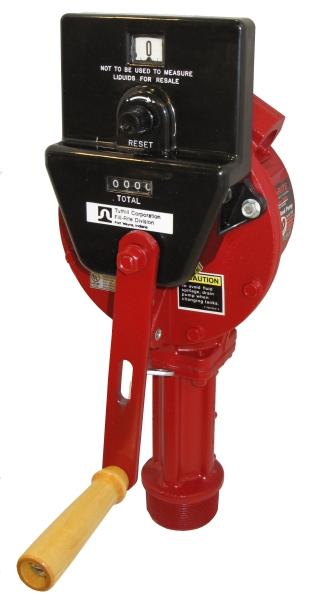 Handheld Water Meter Pump : Fill rite fr cl rotary hand pump meter accessories