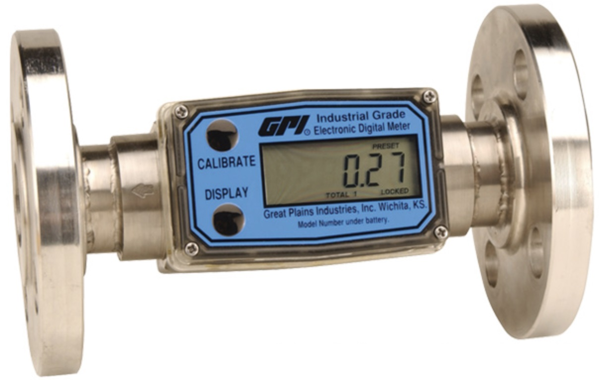 Location: / Flow Meters / Atex Approved / Great Plains Industries / GPI G2  Industrial Grade, ATEX Approved Flow Meters, 150 ANSI Flanged, 316