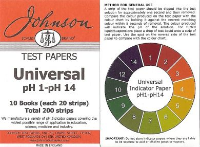 buy ph paper It's easy, safe, and fun to make your own ph paper test strips this is a project that kids can do and that can be done from home, though calibrated test.